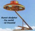 Arne Andersen UFO skulptur Kolding